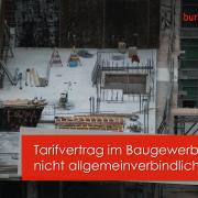 Sozialkassenverfahren Baugewerbe