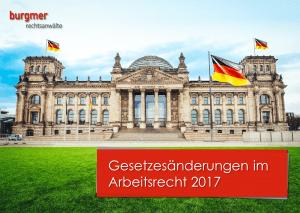 Gesetzesänderungen 2017