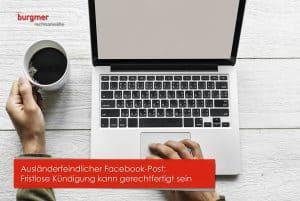 Ausländerfeindlicher Facebook-Post