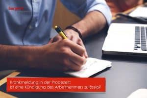 Das Maßregelungsverbot Burgmer Rechtsanwälte