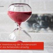 Nichtige Vereinbarung zur Stundenzahl