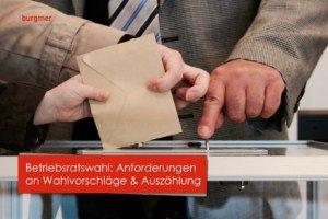 Betriebsratswahl II