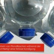 Sammeln von Pfandflaschen